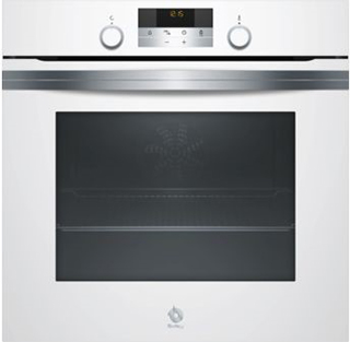 horno balay cristal blanco