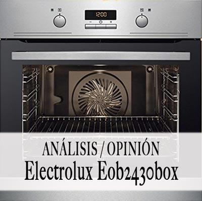 horno electroluz eob2430box opiniones
