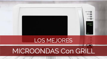mejores microondas con grill